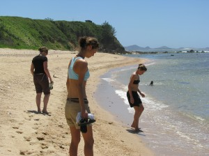 First Day in Fort Dauphin- Beach time