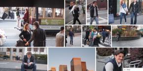 San Francisco Valentine's Street Spotting: Flowers andMen